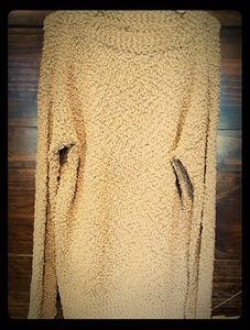 Womens Plush Sage Sweater